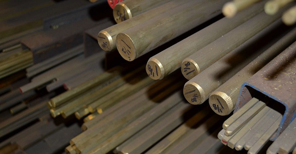 metal rods from our Dartmouth metal shop